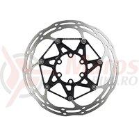 Rotor Disc Sram Centerline 2P - Diam 160 Mm, Suruburi Ti, Negru