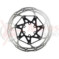 Rotor disc Sram CenterLine 2P, IS6, diam 160mm, spider Alu, centru negru