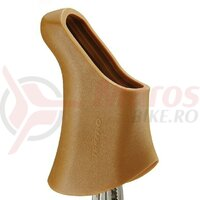 Rubber protector for brake lever Tektro braun, by pairs, f. RL 340 & 341