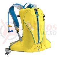 Rucsac Camelbak Octane 18X 15L/11L cu rezervor 3l galben/albastru