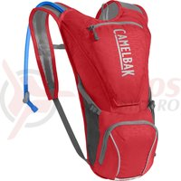 Rucsac Camelbak Rogue cu rezervor 2.5L racing red/silver