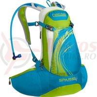 Rucsac Camelbak Spark 10LR 8L cu rezervor 2L dame albastru/verde