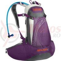 Rucsac Camelbak spark 10LR 8L cu rezervor 2L Ladies imperial purple/graphite