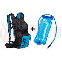 Rucsac hidratare Zefal Z Hydro XL 3L negru/albastru