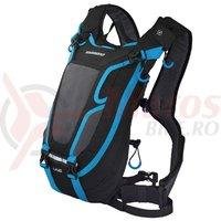 Rucsac Shimano Unzen 4L Enduro Racepack Black/Lightning Blue