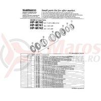 Rulmenti cartridge type Shimano HP-M740 5/32