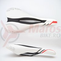 Sa Selle Italia X1 Fec Alloy Flow white/black/red