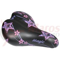 Sa Selle Junior Magic negru/roz S.Montegrappa