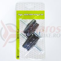 Saboti frana cu tija 90211 - 55 mm negru, 2 perechi