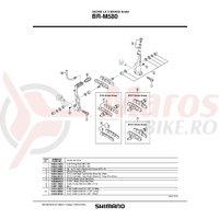 Saboti Shimano BR-M580 S70C Set