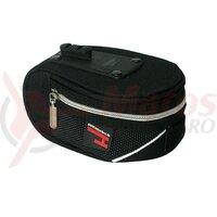 Saddle bag Haberland black, 15x7x11cm 1l