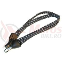 safety tension strap with Niro hooks approx.60cm,bl./wh/grey carton of 6 pcs.