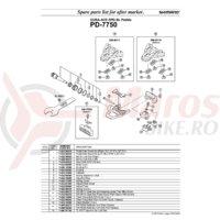 Saiba pentru placute de pedale Shimano PD-7750