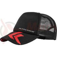 Sapca baseball Kross Trucker red