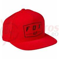 Sapca Fox Badge Snapback [Flm Rd]