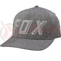 Sapca Fox Barred Flexfit Hat drk gry