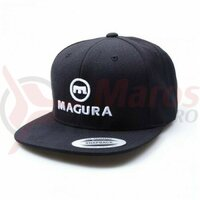 Sapca MAGURA Cap #WHOSTOPSYOU Negru / Alb