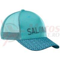 Sapca Salomon Urban Mantra Logo Cap turcoaz femei