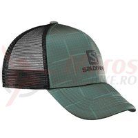 sapca salomon Urban Summer Logo Cap kaki barbati