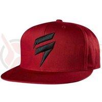 Sapca Shift Corp Hat Snapback drk red