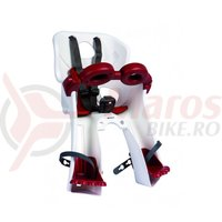Scaun copil Bellelli Freccia B-Fix alb/rosu max. 15 kg.