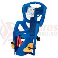 Scaun de copil Bikefun Peppe B-Fix spate albastru