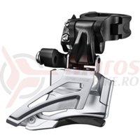 Schimbator fata Shimano Deore FD-M618-H 2x10v 34.9mm CS66-69 negru