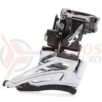 Schimbator fata Shimano Deore XT FD-M8025-H dublu 2x11 high clamp down swing tragere de sus colier 34.9mm unghi cs 66-69