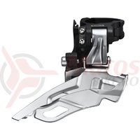 Schimbator fata Shimano KFDM611L6S tragere dubla colier 34.9mm unghi 66-69 negru-argintiu