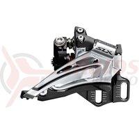 Schimbator fata Shimano SLX FD-M7025-E dublu 2x11v pe spate low clamp top swing tragere de jos E-TYPE unghi cs 66-69