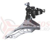 Schimbator fata Shimano Tourney FD-TY300 triplu 34.9mm 42T CS66-69 50mm