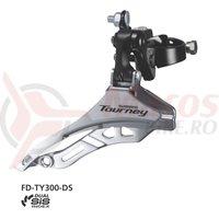 Schimbator fata Shimano Tourney FD-TY300 triplu SIS 28.6mm 42T CS66-69