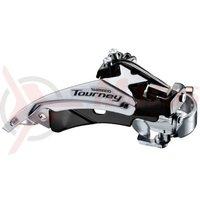 Schimbator fata Shimano Tourney FD-TY510-TS3 3x6/7v 34.9mm CS63-66 48T
