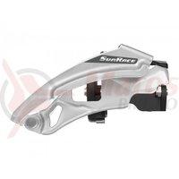 Schimbator fata Sunrace FDM300 SD/MD/LD 3X7/8vit tragere dubla colier 34,9mm cu distantieri