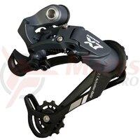 Schimbator spate SRAM X7, 9vit, patina lunga Alu, negru, (fara ambalaj)