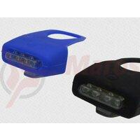 Sclipitor Eastpower EBSL-014, silikon negru, 4 leduri albe, baterii (2xAAA incluse)