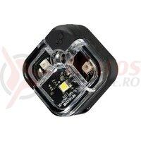 Sclipitor Infini I-220W Aria, 2 leduri rosii+1 led alb, 2functii, negru, bateri incluse, 25gr