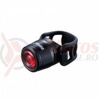 Sclipitor Infini I-270RA, Mini Luxo, 1led rosu, 3functii, baterii reincarcabile, incarcare USB, negru