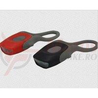 Sclipitor set Eastpower EBSL-001, silikon, 2 leduri, baterii (2xCR2032 incluse)