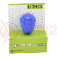 Sclipitor spate BikeForce Boomer Blue