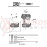 Senzor de viteza Shimano pentru DU-E6000