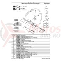Senzor magnet sensor Shimano WH-7700