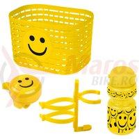 Set accesorii copii Ventura galben