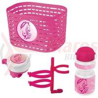 Set accesorii copii Ventura roz