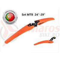 Set Aparatori Noroi LASALLE SPORTS OREGON Orange 24