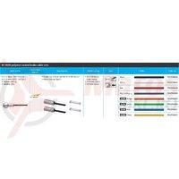 Set cablu/camasa de frana Shimano Road BC-9000 cablu 1000/2000mm si capete high-tec gray