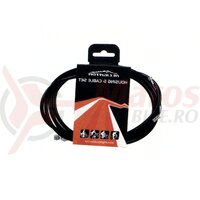 Set Cablu Schimbator Spate - 4mm - negru - Alligator 166UD01 SP