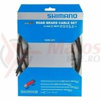 Set cabluri si camasi frana Shimano Dura Ace BC-9000 negru