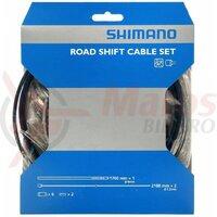Set cabluri si camasi schimbator Shimano SIS40 negru