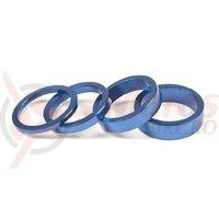 Set distantier Salt pentru Headset 3, 5, 8, 10 mm albastru